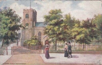 Postcard of St. Mary's Church Walthamstow