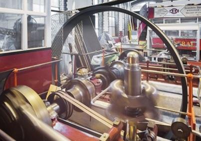 Marshall Engine. Engine Run day at Walthamstow Pumphouse Museum.